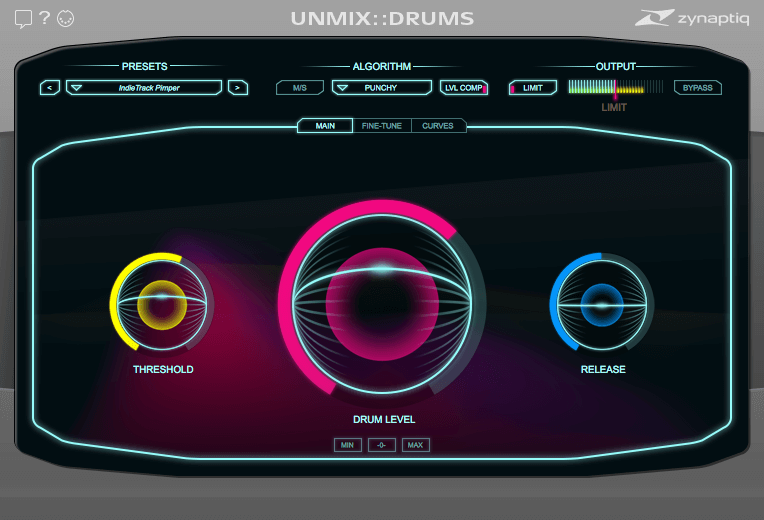 zynaptiq_unmixdrums_mainview