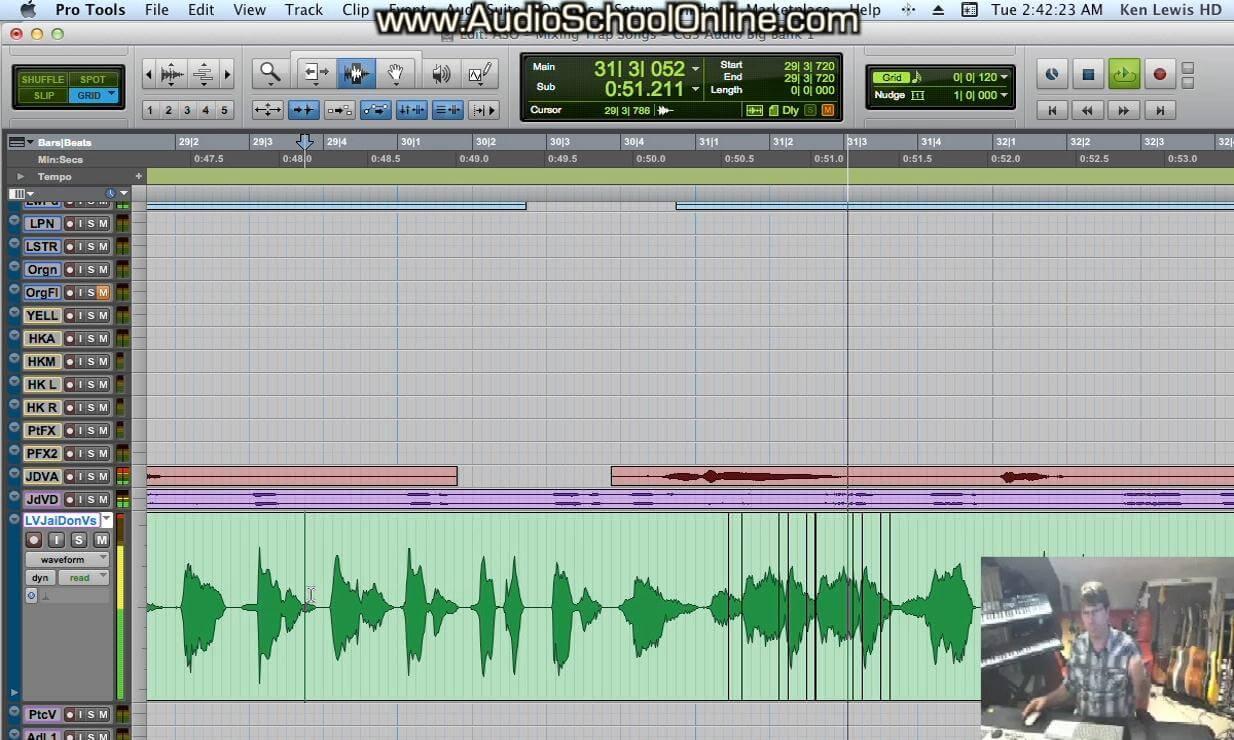 mixing trap music tutorial