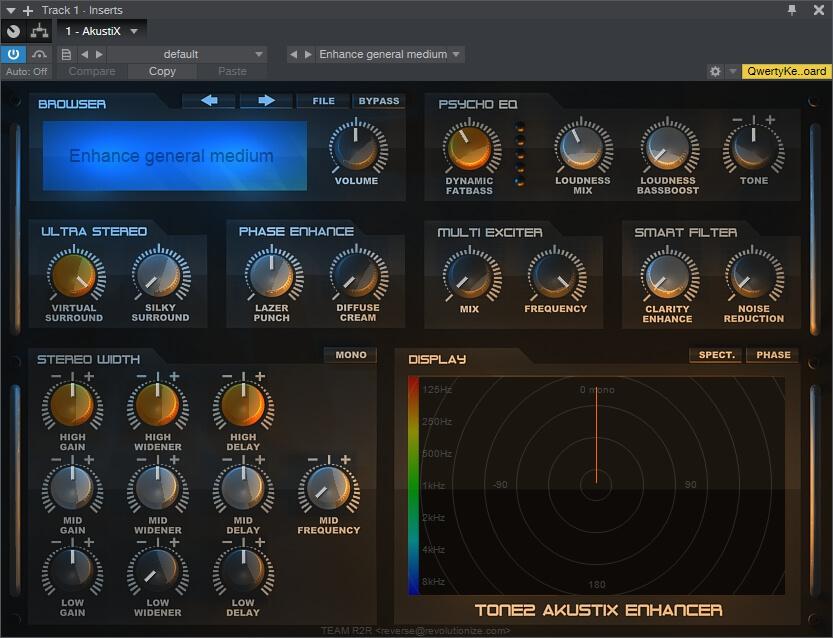 tone2 ultra space