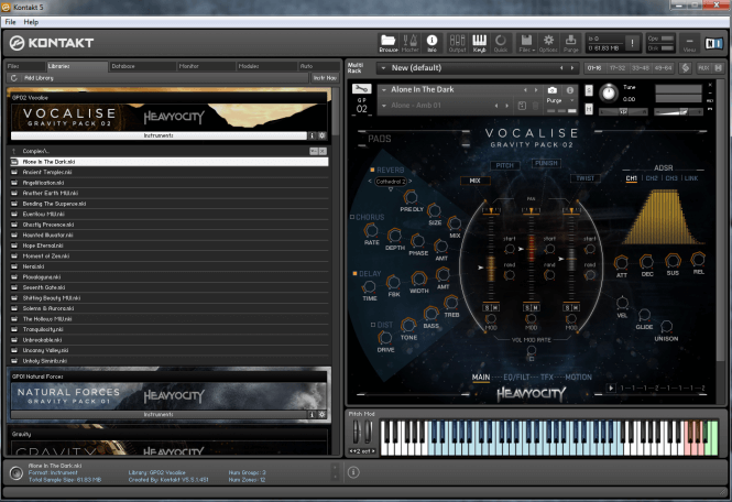 Heavyocity Gravity Pack 02 Vocalise