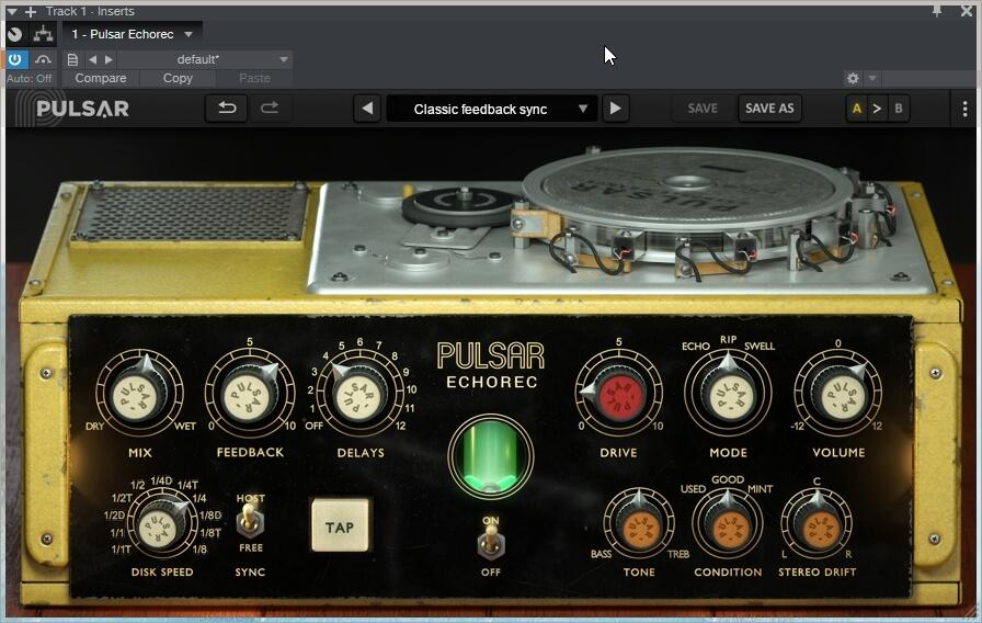 Pulsar Audio Echorec 1.2.6