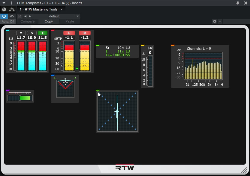 RTW – Mastering Tools – Masterclass PlugIns Series 4.1.2