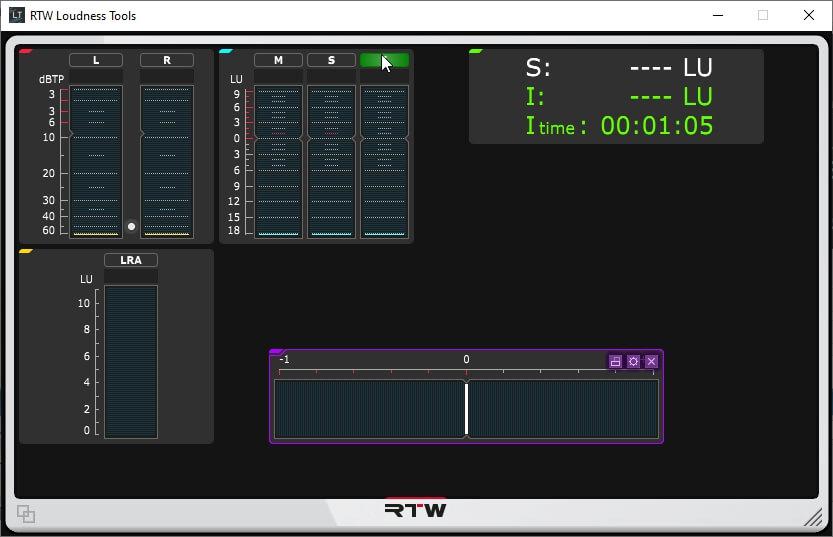 RTW Loudness Tools Masterclass PlugIns Series 4.1.2