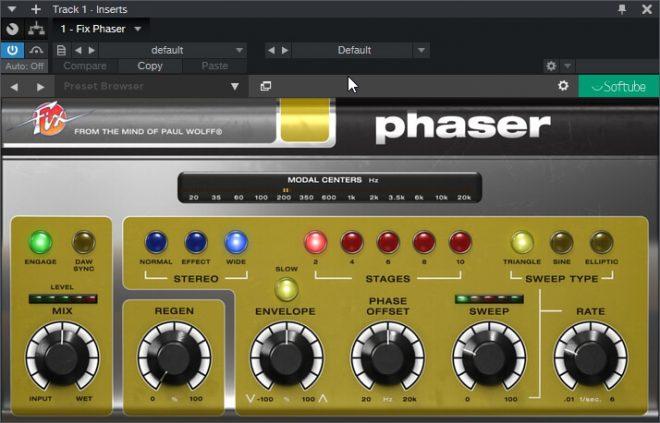 Softube – Fix Phaser v2.5.9