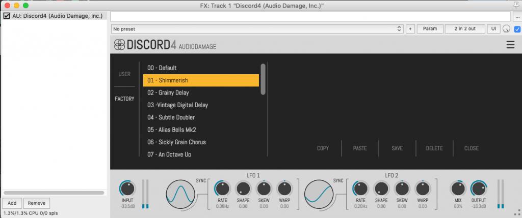 Audio Damage AD044 Discord4 v4.1.1