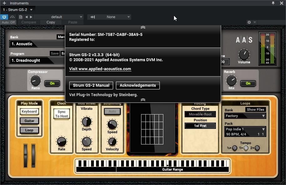 Applied Acoustics Systems – Strum GS-2 v2.3.3