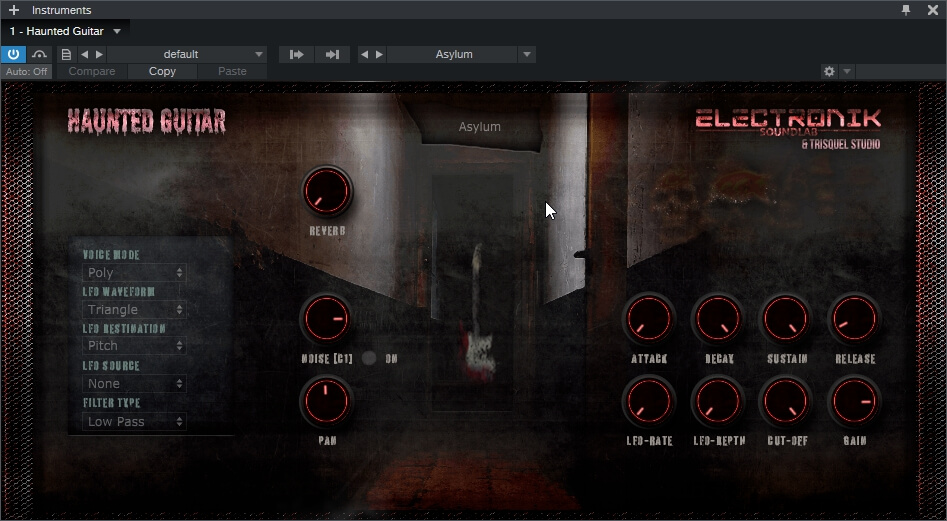 Electronik SoundLab – HAUNTED GUITAR 1.0