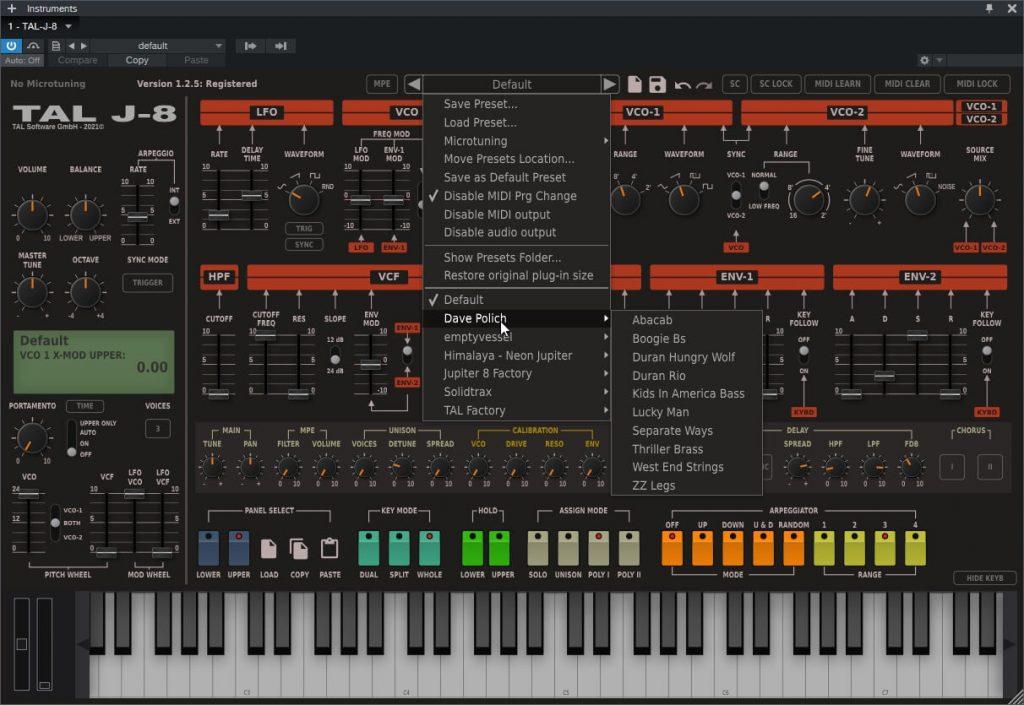TAL Software – TAL-J-8