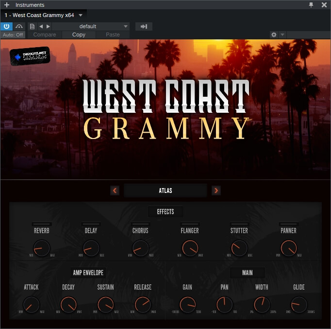 Digikitz West Coast Grammy