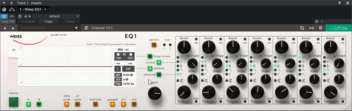 Softube Weiss EQ1 v2.5.12
