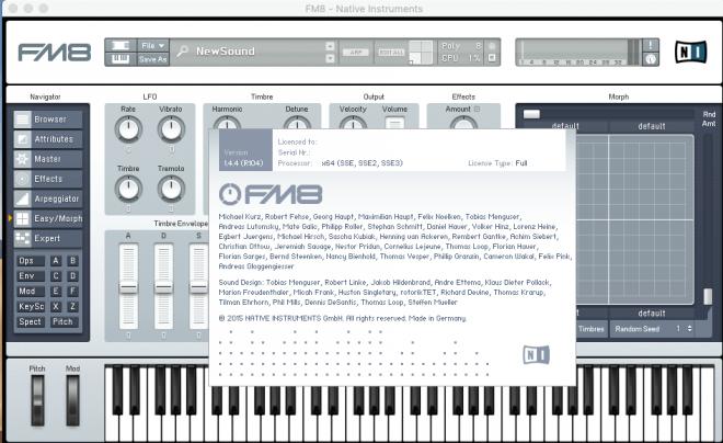 Native Instruments – FM8 1.4.4